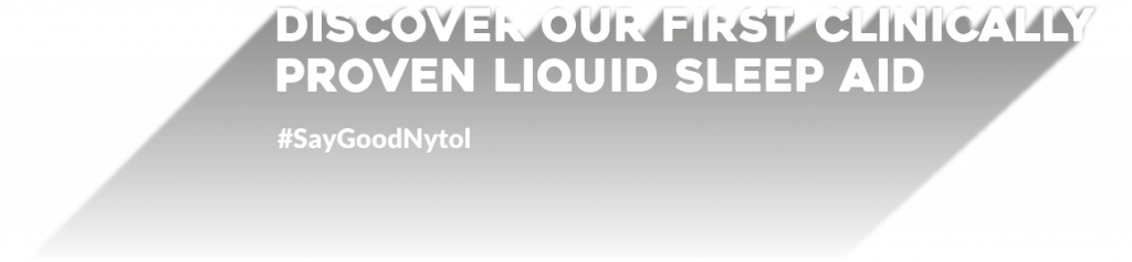 Discover our first clinically proven liquid sleep aid
