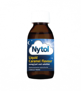 Nytol Liquid Caramel Flavour Oral Solution